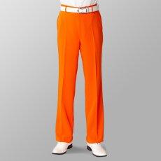 ステージ衣装 カラオケ衣装 オレンジ スラックス