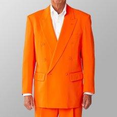 ステージ衣装 カラオケ衣装 オレンジ ジャケット