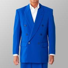 ステージ衣装 カラオケ衣装 ブルー 青 ジャケット