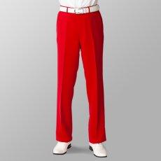 ステージ衣装 カラオケ衣装 レッド 赤 スラックス