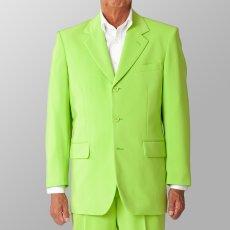ステージ衣装 カラオケ衣装 ライトグリーン 黄緑 ジャケット