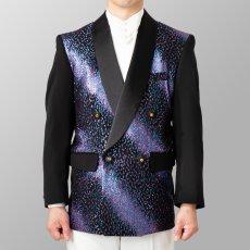 ステージ衣装 カラオケ衣装 ライトブルーXピンク 水色X桃色 ジャケット