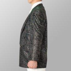シルバー×グリーン 銀色×緑 ジャケット