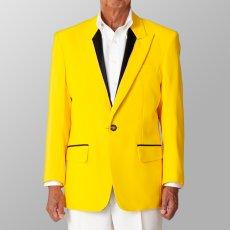 ステージ衣装 カラオケ衣装 イエロー 黄色 ジャケット