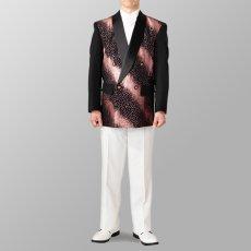 ステージ衣装 カラオケ衣装 セットアップ例 ピンク×ゴールド 桃色X金 スーツ