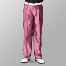 ステージ衣装 カラオケ衣装 ピンク 桃色 スラックス