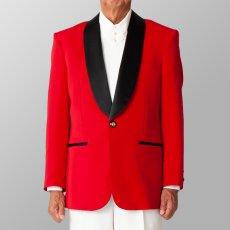 ステージ衣装 カラオケ衣装 レッド 赤 ジャケット