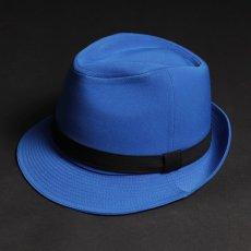 ステージ衣装 ブルー 青 帽子