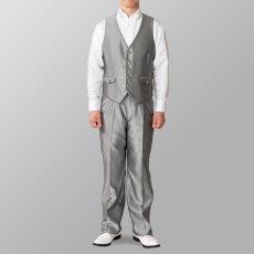 ステージ衣装 カラオケ衣装 セットアップ例 シルバー 銀色
