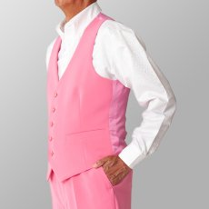 ステージ衣装 カラオケ衣装 ダンス衣装 ピンク 桃色 ベスト