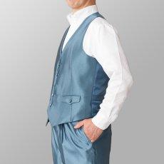ステージ衣装 カラオケ衣装 ライトブルー 水色 ベスト
