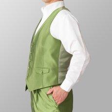 ステージ衣装 カラオケ衣装 シルバー ライトグリーン 黄緑