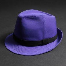 ステージ衣装 パープル 紫 帽子