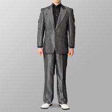ステージ衣装 カラオケ衣装 セットアップ例 ブラック 黒 スーツ