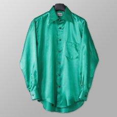 ステージ衣装 グリーン 緑 シャツ
