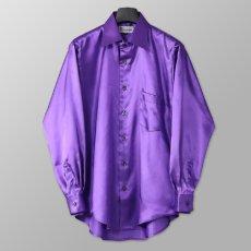 ステージ衣装 パープル 紫 シャツ