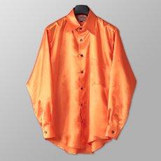 ステージ衣装 オレンジ シャツ