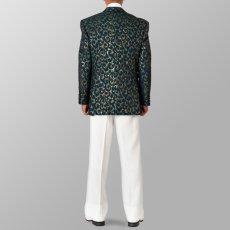 セットアップ例 グリーン 緑 スーツ