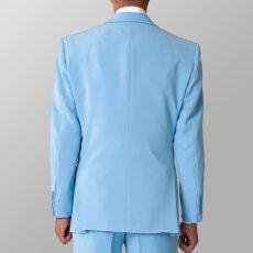サックス 水色 ジャケット