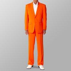 ステージ衣装 カラオケ衣装 セットアップ例 オレンジ スーツ