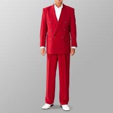 ステージ衣装 カラオケ衣装 セットアップ例 ワイン エンジ色 スーツ