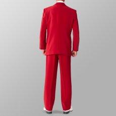 セットアップ例 ワイン エンジ色 スーツ