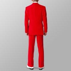 セットアップ例 レッド 赤 スーツ