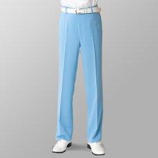 ステージ衣装 カラオケ衣装 ゴルフウェア サックス 水色 スラックス
