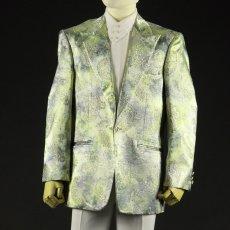 拝み掛け出来ます ライトグリーン 黄緑 ジャケット