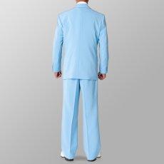 ライトブルー 水色 スーツ