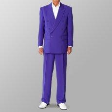 ステージ衣装 カラオケ衣装 セットアップ例 パープル 紫 スーツ