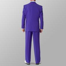 セットアップ例 パープル 紫 スーツ