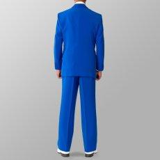 セットアップ例 ブルー 青スーツ