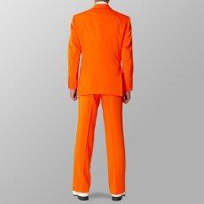 セットアップ例 オレンジ スーツ