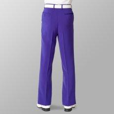 パープル 紫 スラックス