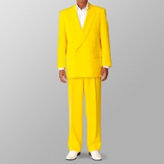 ステージ衣装 カラオケ衣装 セットアップ例 イエロー 黄色 スーツ