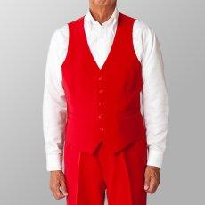 ステージ衣装 カラオケ衣装 ダンス衣装 レッド 赤 ベスト