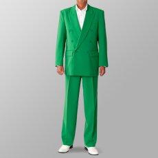 ステージ衣装 カラオケ衣装 セットアップ例 グリーン 緑 スーツ