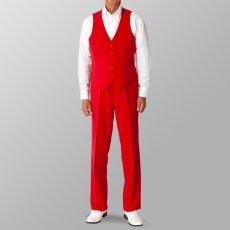 ステージ衣装 カラオケ衣装 ダンス衣装 セットアップ例 レッド 赤