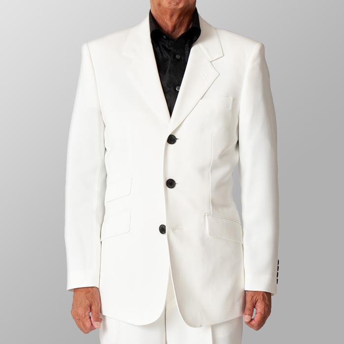 ステージ衣装 カラオケ衣装 ダンス衣装 ホワイト 白 ジャケット