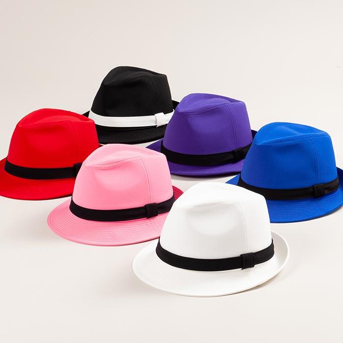 ステージ衣装 中折れ帽子 ハット