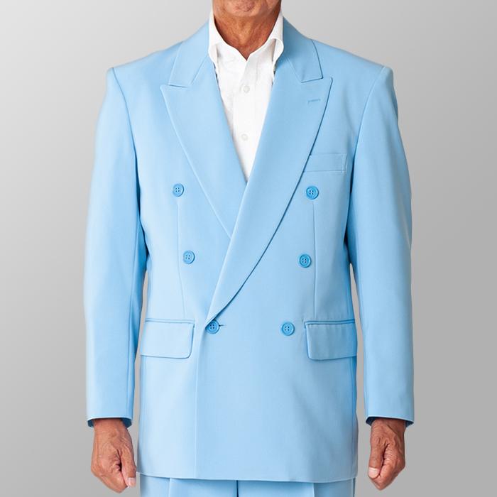 ステージ衣装 カラオケ衣装 サックス 水色 ジャケット