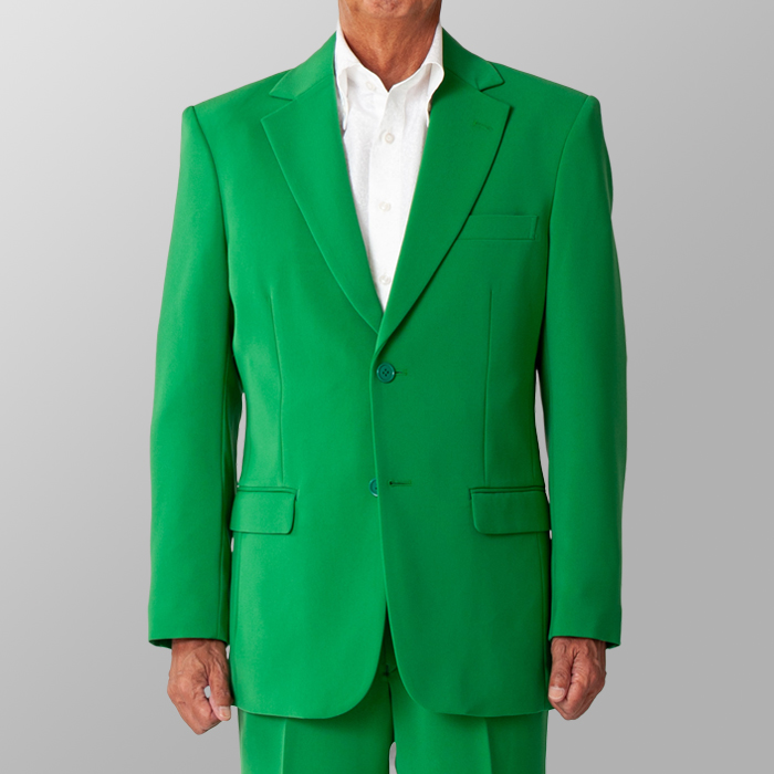 ステージ衣装 カラオケ衣装 グリーン 緑 ジャケット