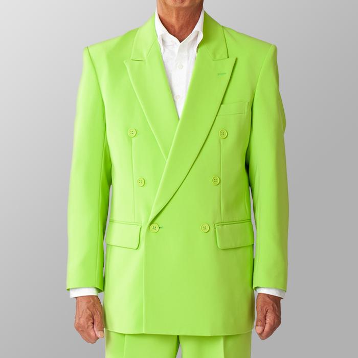 ステージ衣装 カラオケ衣装 ライトグリーン 黄緑色 ジャケット