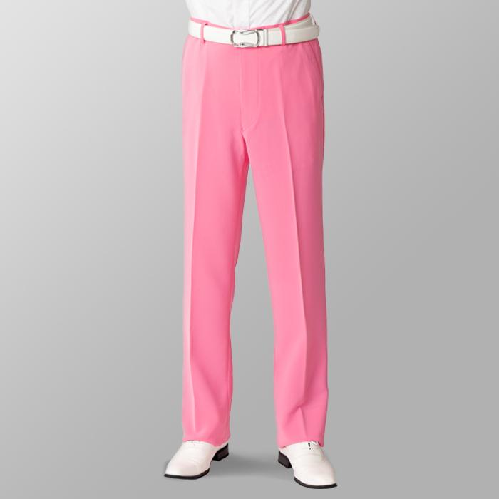 ステージ衣装 カラオケ衣装 ゴルフウェア ピンク 桃色 スラックス