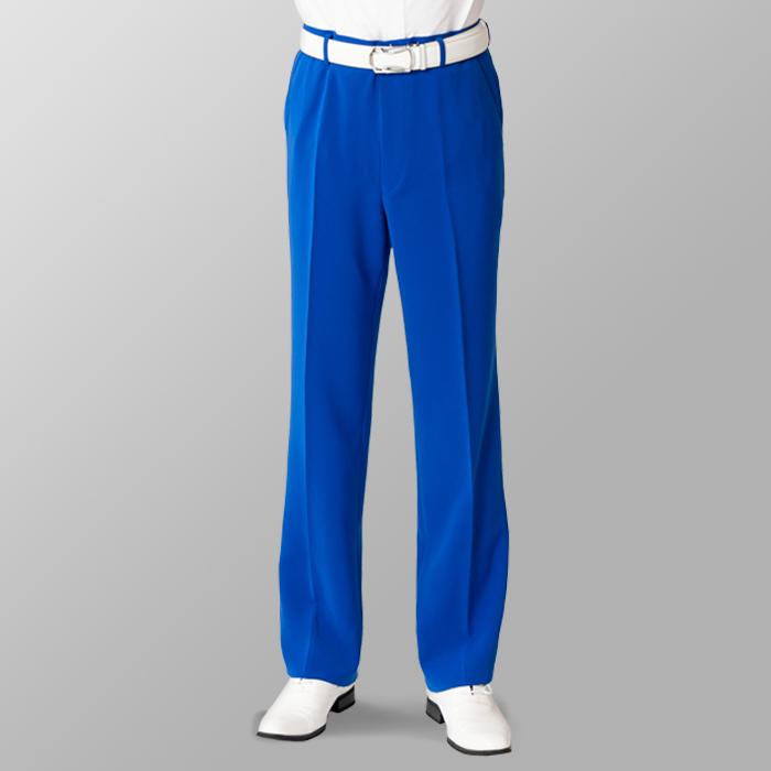ステージ衣装 カラオケ衣装 ゴルフウェア ブルー 青 スラックス