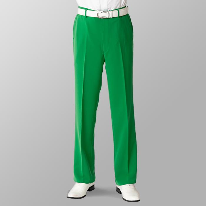 ステージ衣装 カラオケ衣装 ゴルフウェア グリーン 緑 スラックス